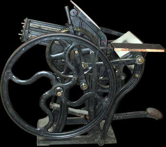 Типографское дело или страрые гравюры Старых печатных машын... (Фото 29)