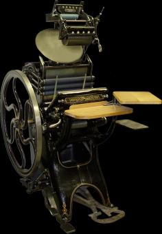 Типографское дело или страрые гравюры Старых печатных машын... (Фото 25)