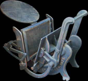 Типографское дело или страрые гравюры Старых печатных машын... (Фото 21)