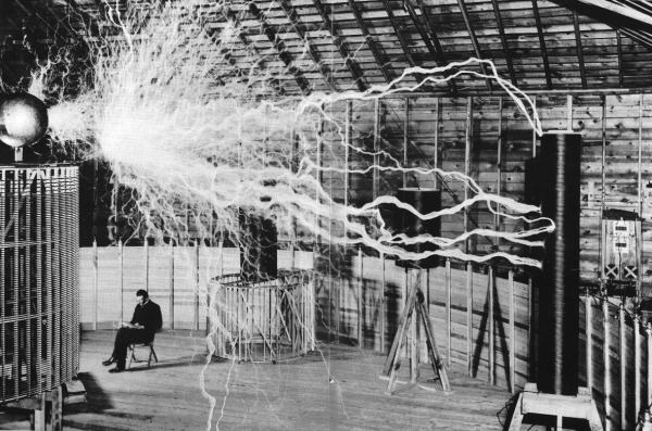 Nicola Tesla, Colorado Springs, 1899