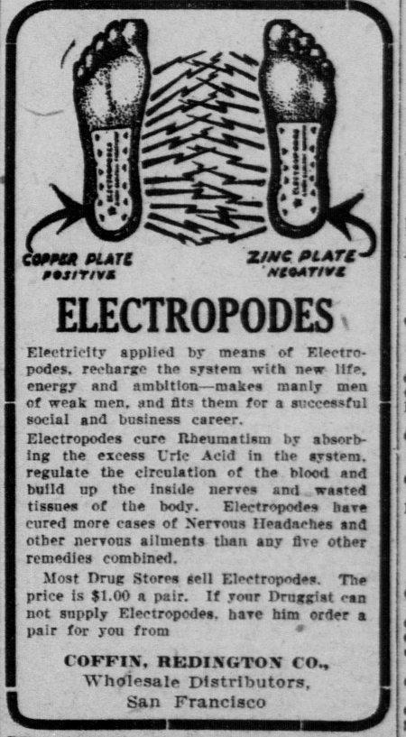 Лечение электричеством для нервных и ослабленных (1900-1910) (Фото 3)