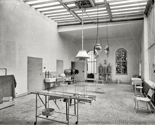 """Лечение сотрясения мозга. Из """"System of Practical Surgery"""" (1904). (Фото 4)"""