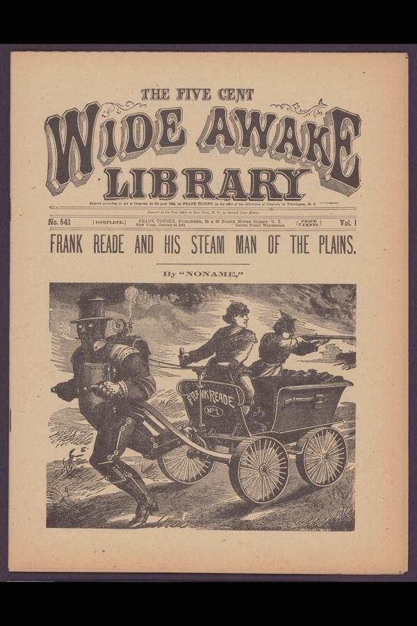 """Обложки журналов """"для юных взрослых"""": Wide Awake Library"""