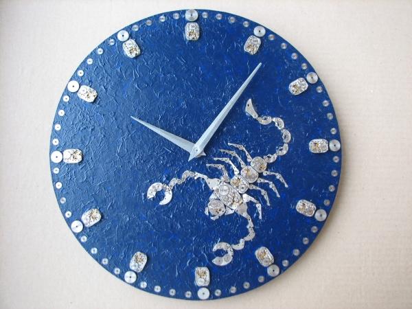 Настенные часы в стиле стимпанк (псевдостимпанк) (Фото 6)