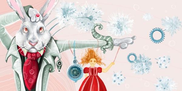 Алиса в Стране Чудес: кролик