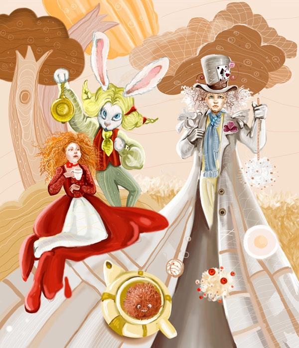Алиса в Стране Чудес: чаепитие с безумцами