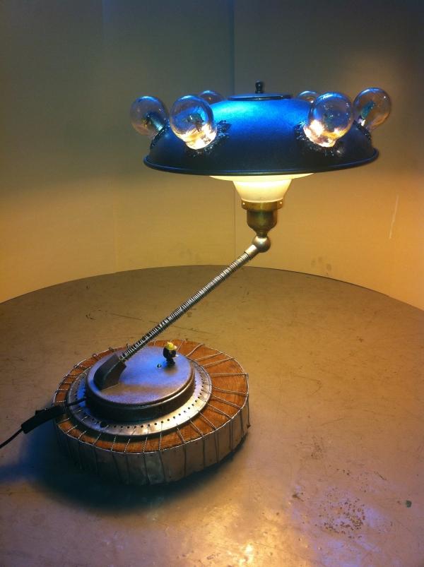 Тайна третьей планеты - лампа, наш первый опыт