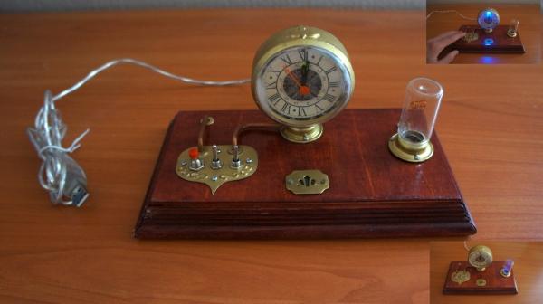 Стимпанк часы