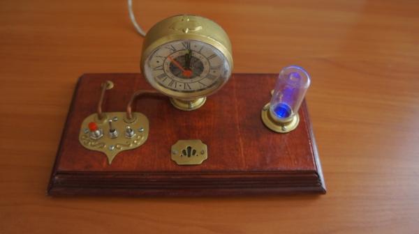 Стимпанк часы (Фото 30)