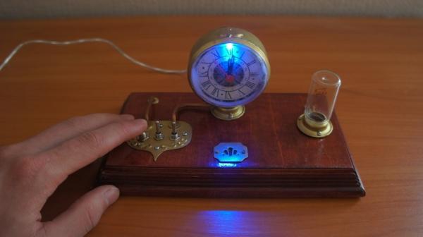 Стимпанк часы (Фото 31)