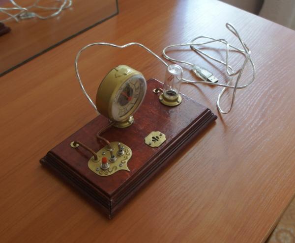 Стимпанк часы (Фото 27)