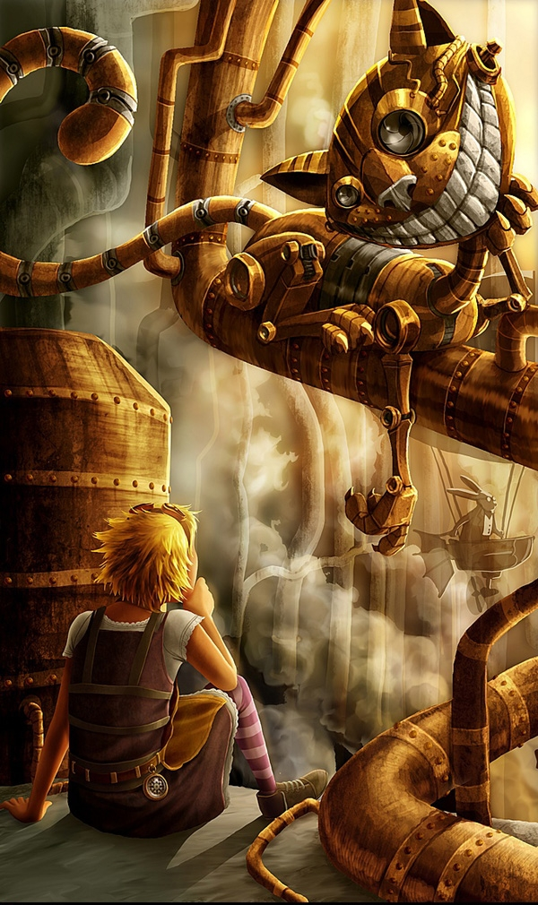 Steampunk art (Фото 3)