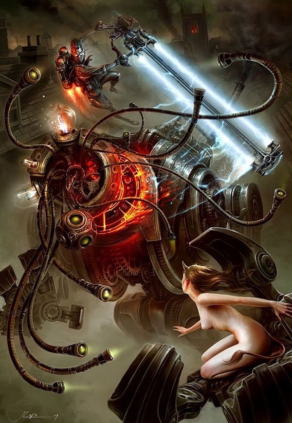 Steampunk art (Фото 4)