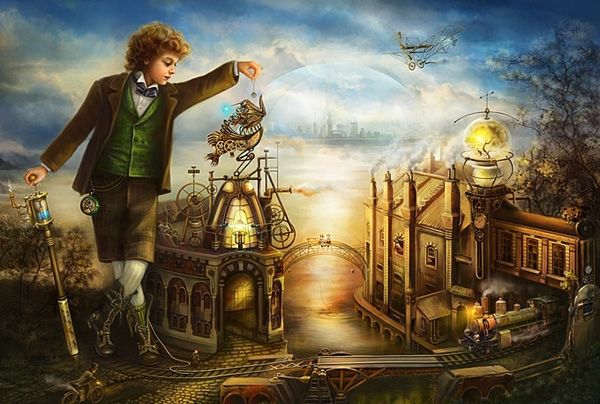 Steampunk art (Фото 9)