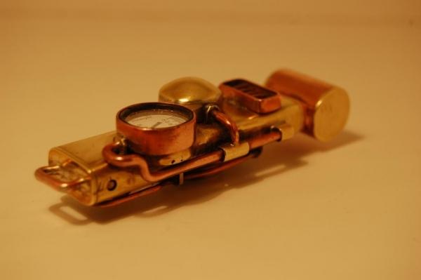 Флешка №2: комбинированная (медь, латунь). (Фото 4)
