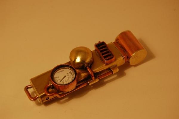 Флешка №2: комбинированная (медь, латунь). (Фото 5)
