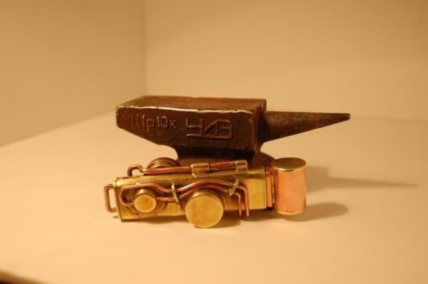 Флешка №2: комбинированная (медь, латунь). (Фото 6)