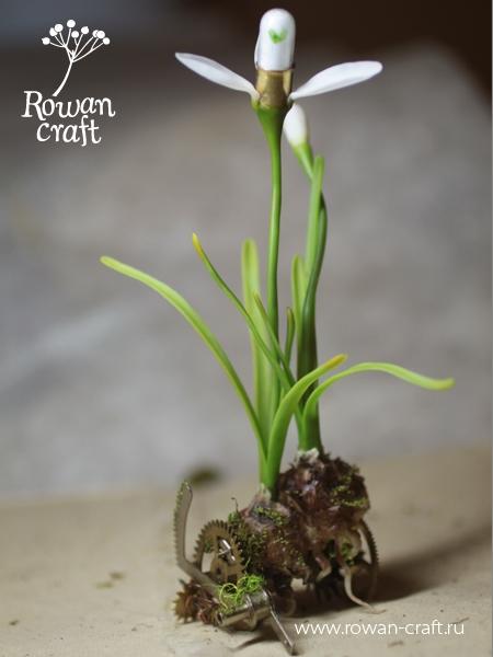 Подснежники из глины - или возвращение сумасшедшего ботаника. (Фото 6)