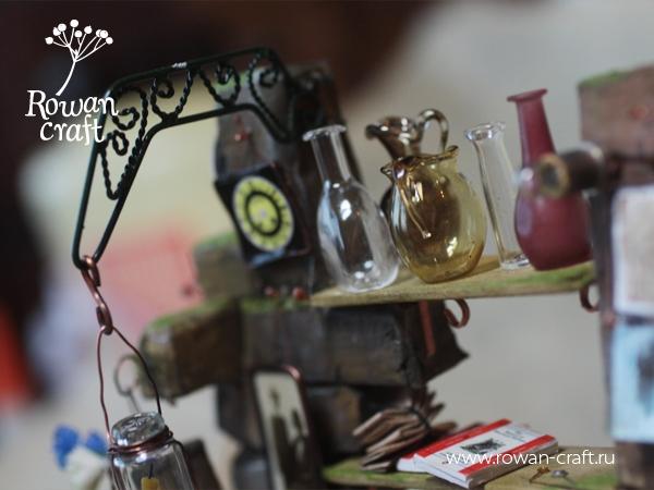 """Миниатюра-стимпанк: """"Мастерская ботаномеханика"""" (Фото 11)"""