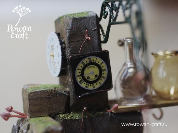 """Миниатюра-стимпанк: """"Мастерская ботаномеханика"""" (Фото 5)"""