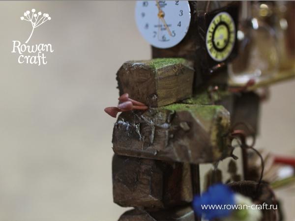 """Миниатюра-стимпанк: """"Мастерская ботаномеханика"""" (Фото 4)"""