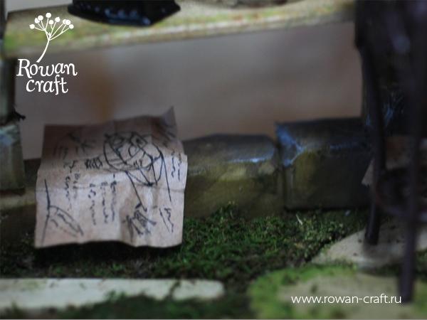 """Миниатюра-стимпанк: """"Мастерская ботаномеханика"""" (Фото 7)"""