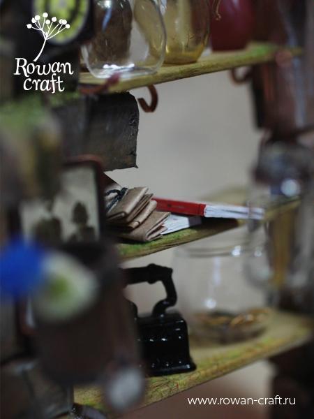"""Миниатюра-стимпанк: """"Мастерская ботаномеханика"""" (Фото 16)"""