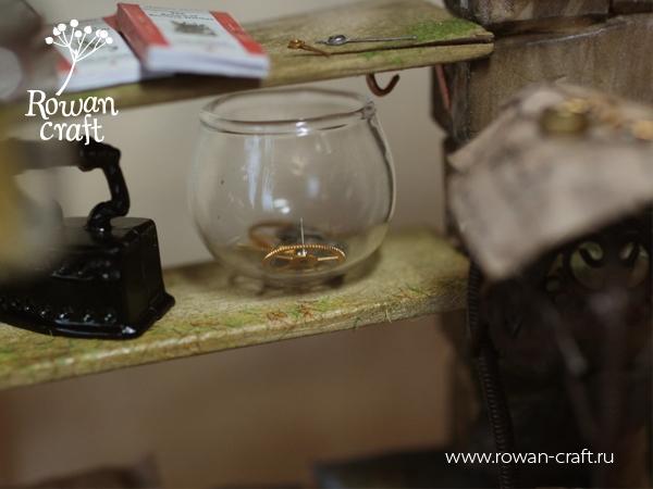 """Миниатюра-стимпанк: """"Мастерская ботаномеханика"""" (Фото 8)"""