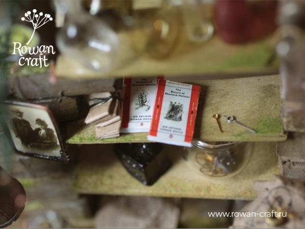 """Миниатюра-стимпанк: """"Мастерская ботаномеханика"""" (Фото 6)"""