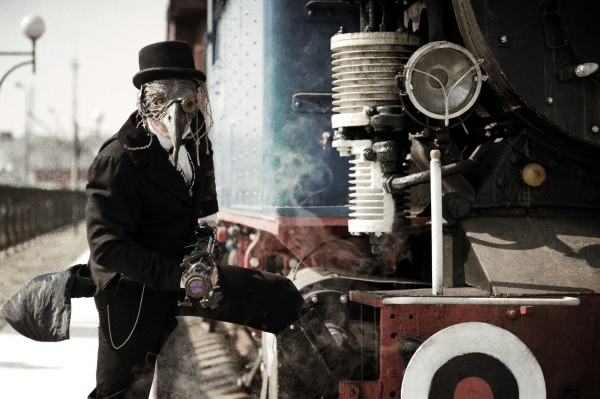 Steampunk (Victorian style) prehistory (Фото 6)