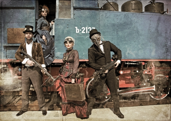 Steampunk (Victorian style) prehistory (Фото 2)