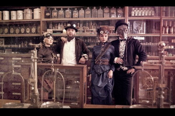 Steampunk (Victorian style) prehistory (Фото 14)