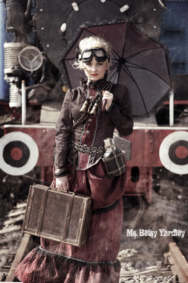 Steampunk (Victorian style) prehistory (Фото 3)