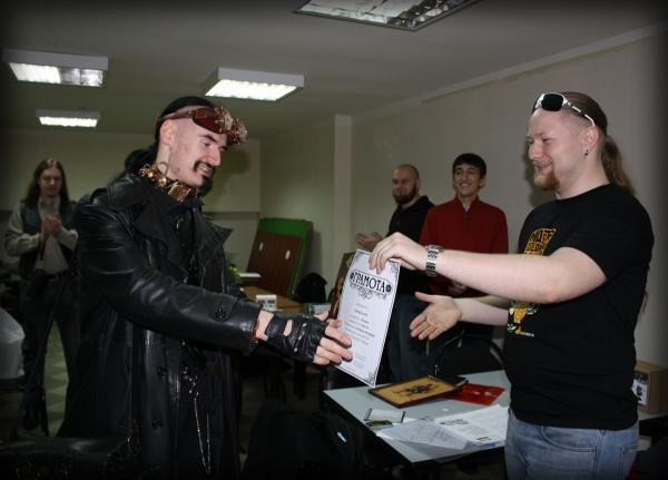 Награждение победителей конкурса концептов и турнир. (Фото 7)