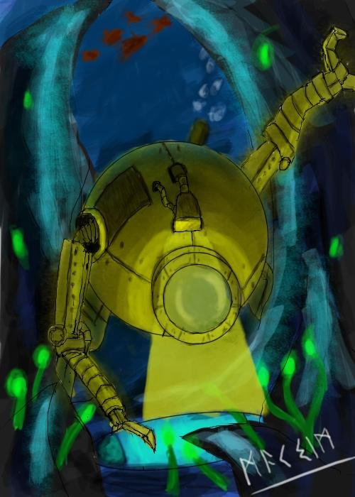Подводный стимпанк