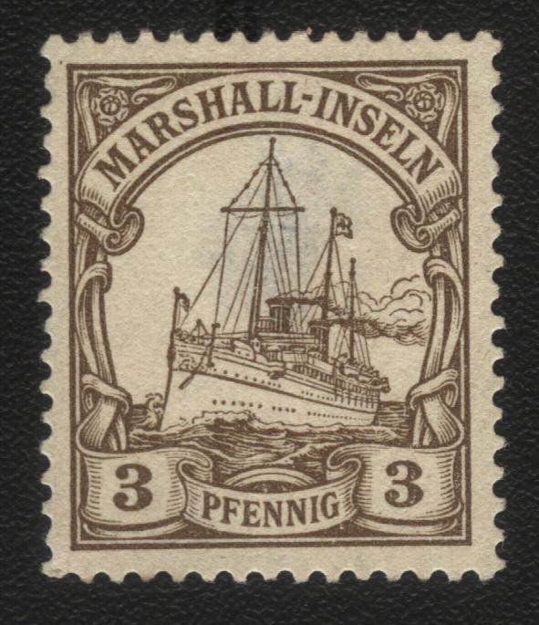 Маршалловы острова. Германское владение. 1900г.