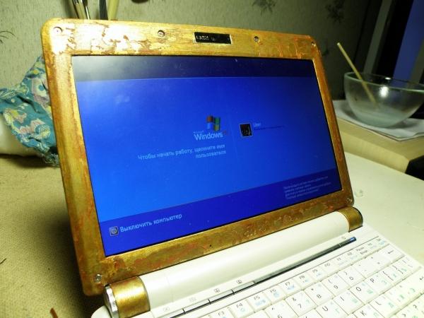 Старый ноутбук и хомяк (Фото 2)