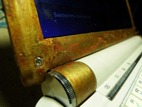 Старый ноутбук и хомяк (Фото 4)