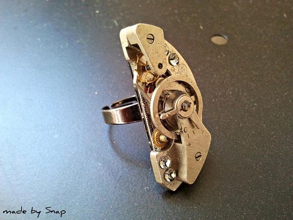 Стимпанк,и это возможно сделать одной рукой. (Фото 2)