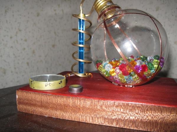 Ночник из лампы. (Фото 15)