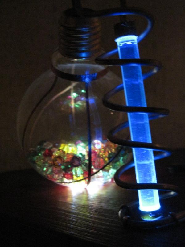 Ночник из лампы. (Фото 17)