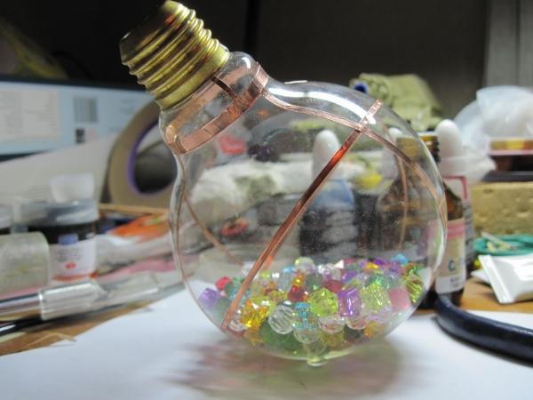 Ночник из лампы. (Фото 8)