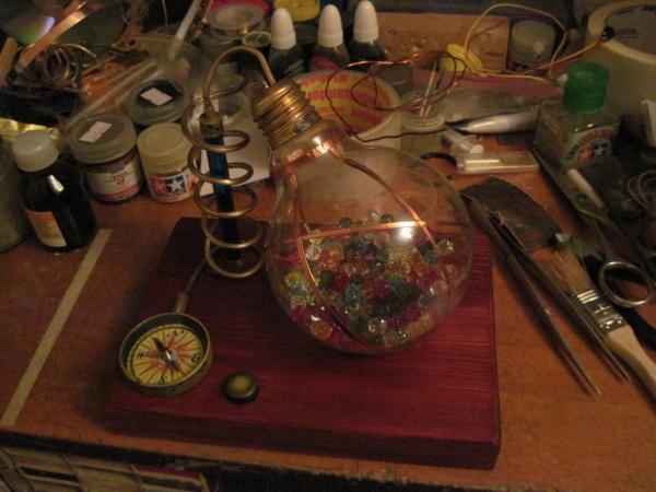 Ночник из лампы. (Фото 12)