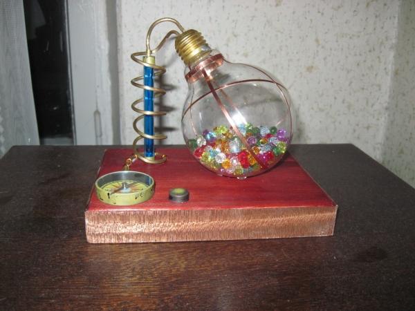 Ночник из лампы. (Фото 14)