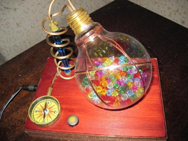 Ночник из лампы. (Фото 16)