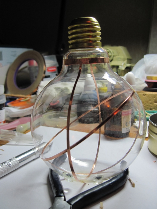 Ночник из лампы. (Фото 6)