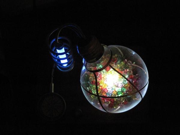 Ночник из лампы. (Фото 18)