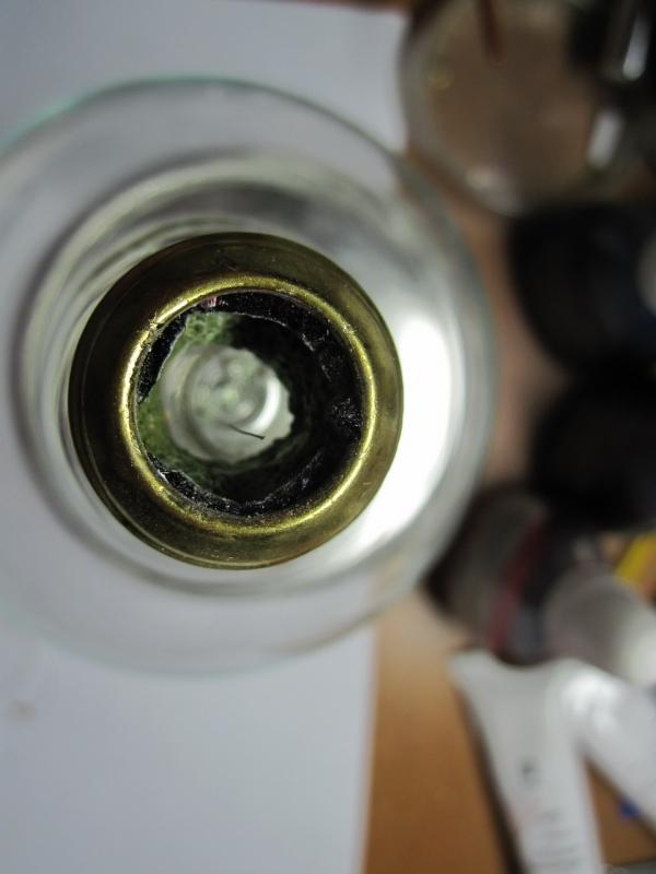 Ночник из лампы. (Фото 3)