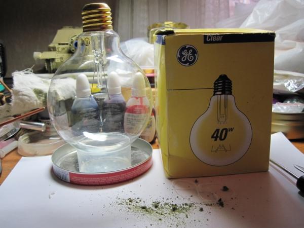 Ночник из лампы. (Фото 2)