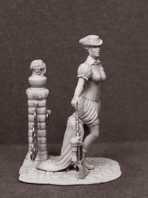 Девушка в стиле НеоВикториана (Фото 3)